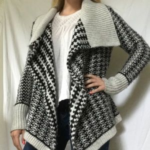 Loft chunky knit open front cardigan sweater